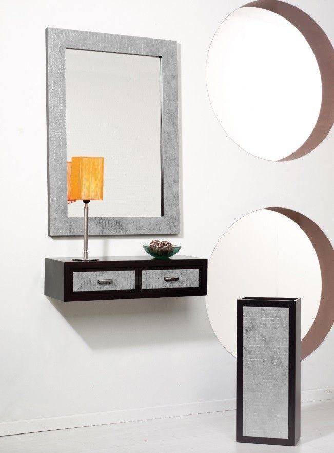 Recibidor moderno sanabria ambar muebles deco - Muebles para hall ...