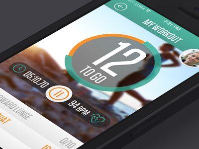 Lumafit Fitness app by Kevin Devine
