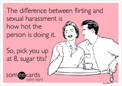 difference between flirting and love