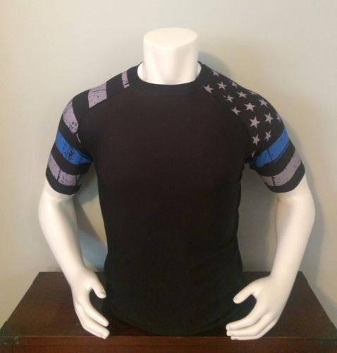 Hey, I found this really awesome Etsy listing at https://www.etsy.com/listing/478956515/rash-guard-police-thin-blue-line-mma-jiu
