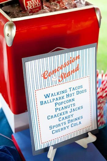 17 Best Images About Concession Stand Ideas On Pinterest