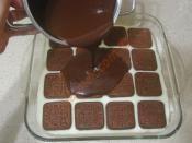 Çikolatalı Muhallebili Pasta Tarifi Hazırlanış Resmi 10 - Kolay ve Resimli Nefis Yemek Tarifleri