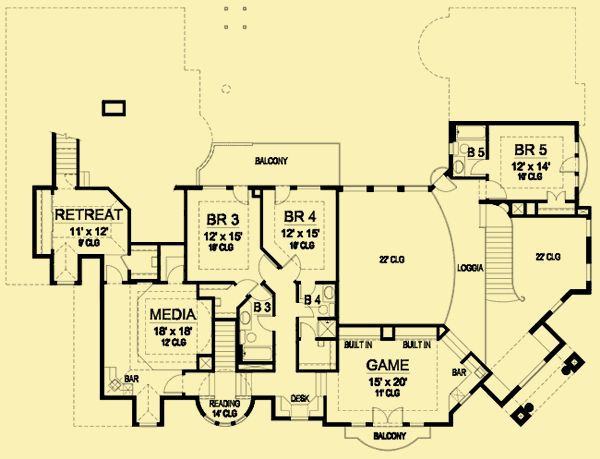 253 Best House Plans Images On Pinterest Architectural