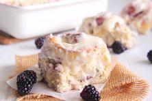 Blackberry Jam Sweet Rolls | Rhodes Kids Baking