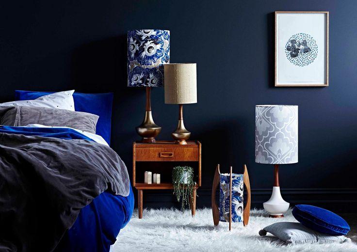 Lamps by Retro Print Revival at Enrich Interiors Seddon