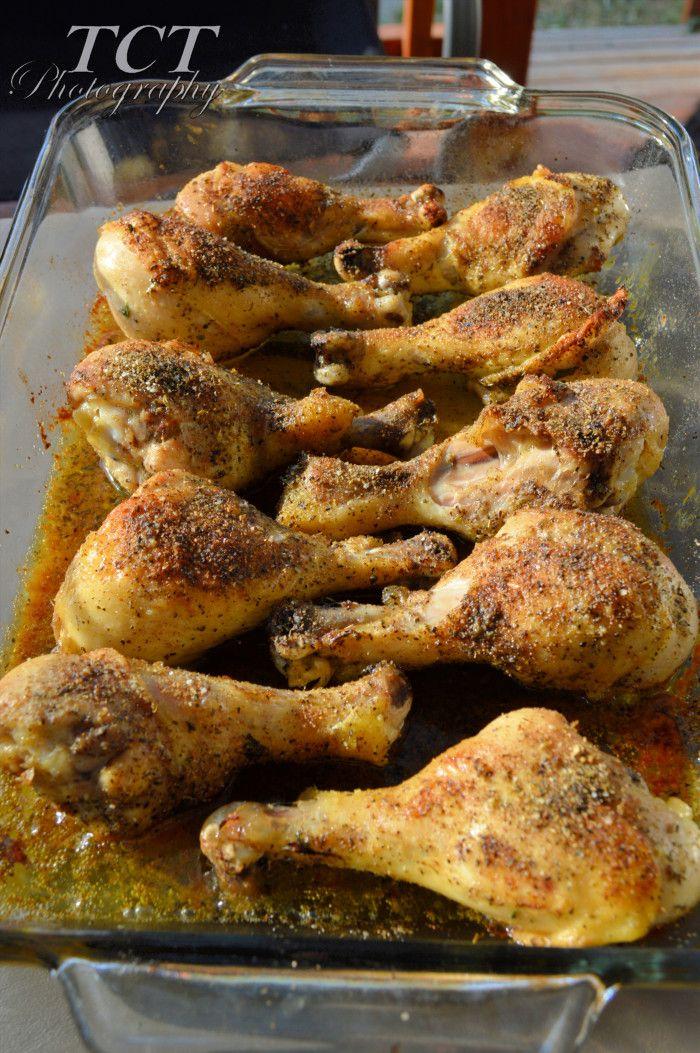 garlic herb chicken drumsticks