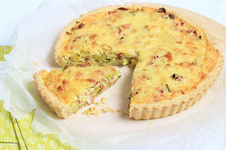 Zelf maken: Quiche Lorraine - Chickslovefood.com