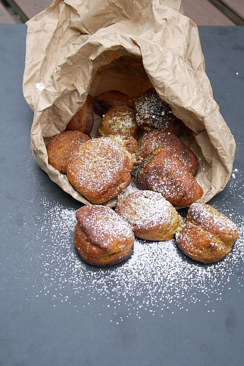 Pumpkin Fritters - can't stop eating. . .