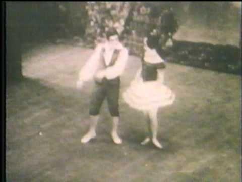 Olga Spessivtzeva & Sir Anton Dolin in Giselle - YouTube