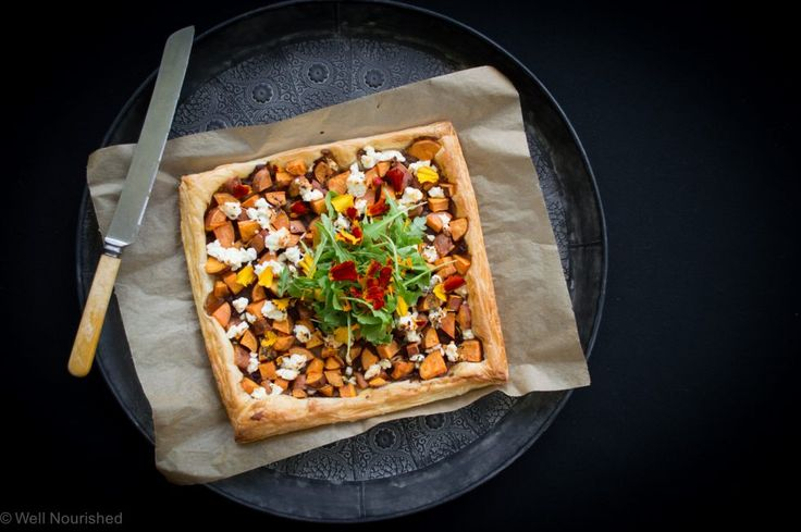 This Sweet Potato, Caramelised Onion and Feta Tart is a quick and easy meal to make. I've also shared my tips for minimising your time in the kitchen.