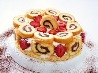 receptyywett: Roládová mini torta