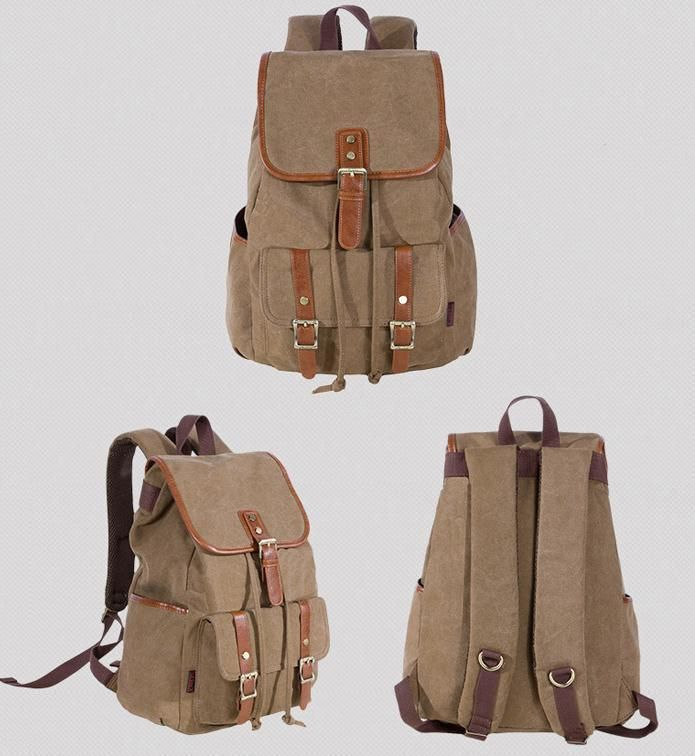 Kaukko Backpack Outdoor Gear Unisex Canvas Traveling Hiking Bags Canvas  #Kaukko