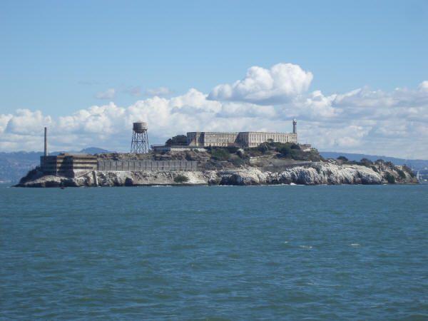 Prisión de Alcatraz en la Bahía de San Francisco