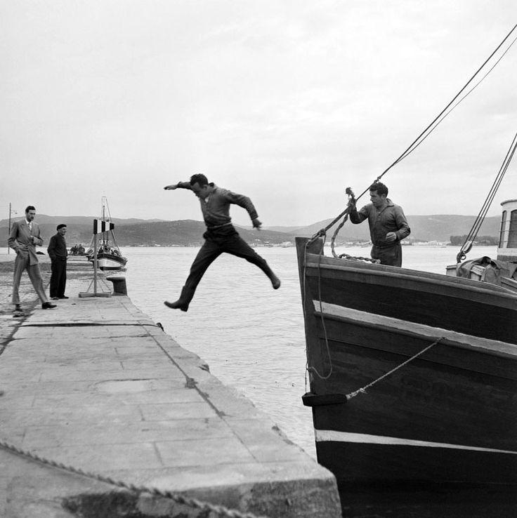 El salto 1950s. Francesc Catala Roca
