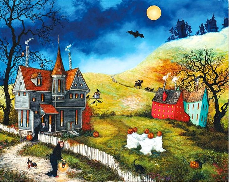 "Linda Nelson Stocks - ""Dancing Ghosts"""