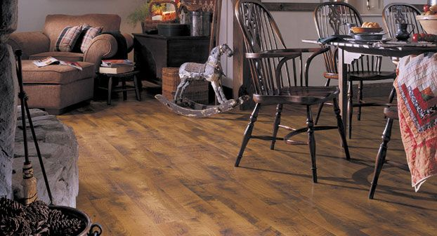 Mannington Antique Barn Oak Laminate Flooring 24093l