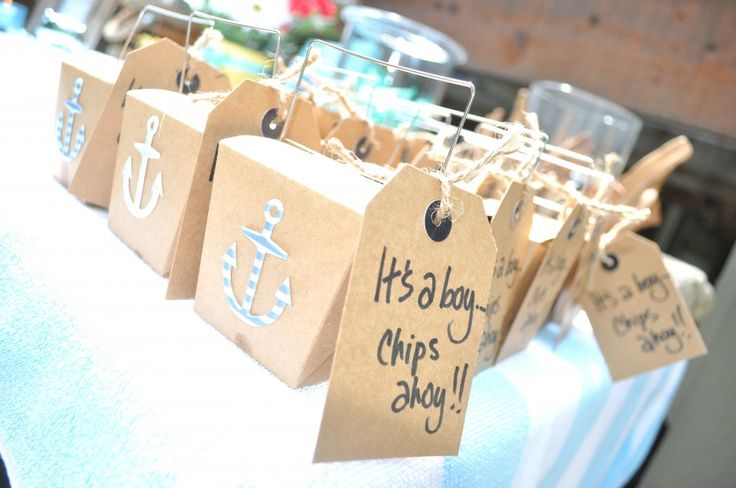 itu0027s a boychips ahoy party favors for nautical themed baby shower diy mama brooks blog pinterest