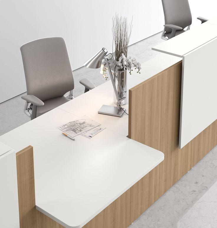 UPPER PANAMA ofrece las recepciones LITHOS.  Simple, elegante, funcional y listo para impresionar. Lithos recepción completa la colección de mobiliario de oficina, ofreciendo una gama completa de productos de un diseño preciso.