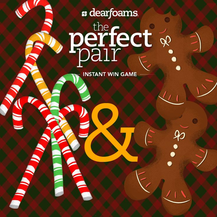 We combined ideas from Louise A Brouillette & Chloe Ashcroft-Webb to create this fun holiday pair – candy canes and gingerbread men! Write your favorite holiday pair ideas in the comments below, and you may see them featured in an upcoming post! Play the #PerfectPair Instant Win Game here: http://on.fb.me/17lGhw4