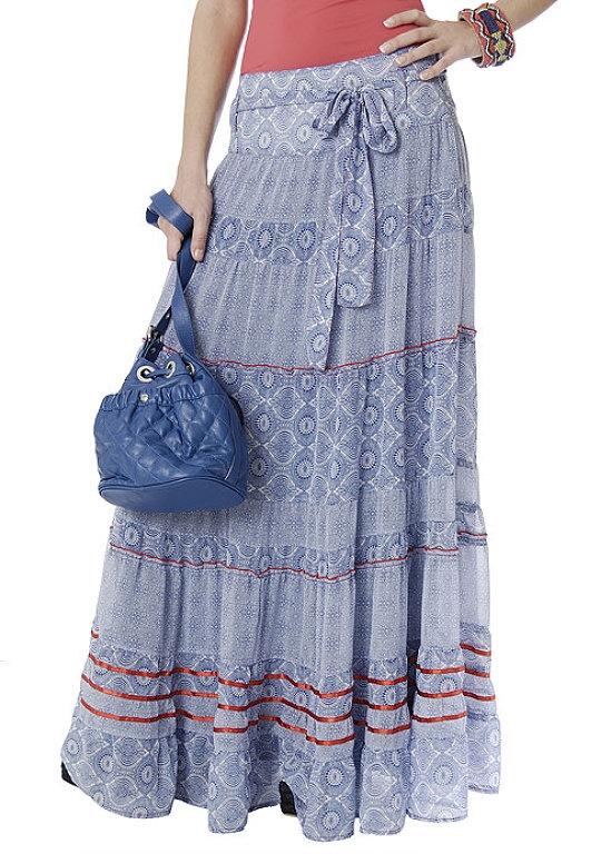 Idea de moda: faldas largas