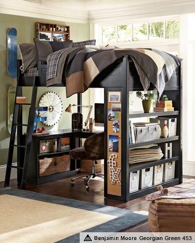Loft Bed (for the boys' #Romantic Life Style| http://my-romantic-life-styles.blogspot.com