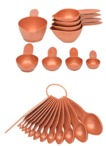 x10  http://www.houzz.com/photos/49994539/POURfect-22-Piece-Measuring-Spoon-and-Cup-Set-Empire-Red-contemporary-measuring-cups