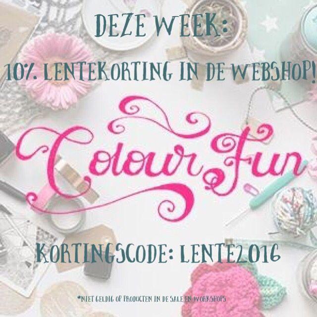 Colour youre day en shop bij www.colourfun.nl
