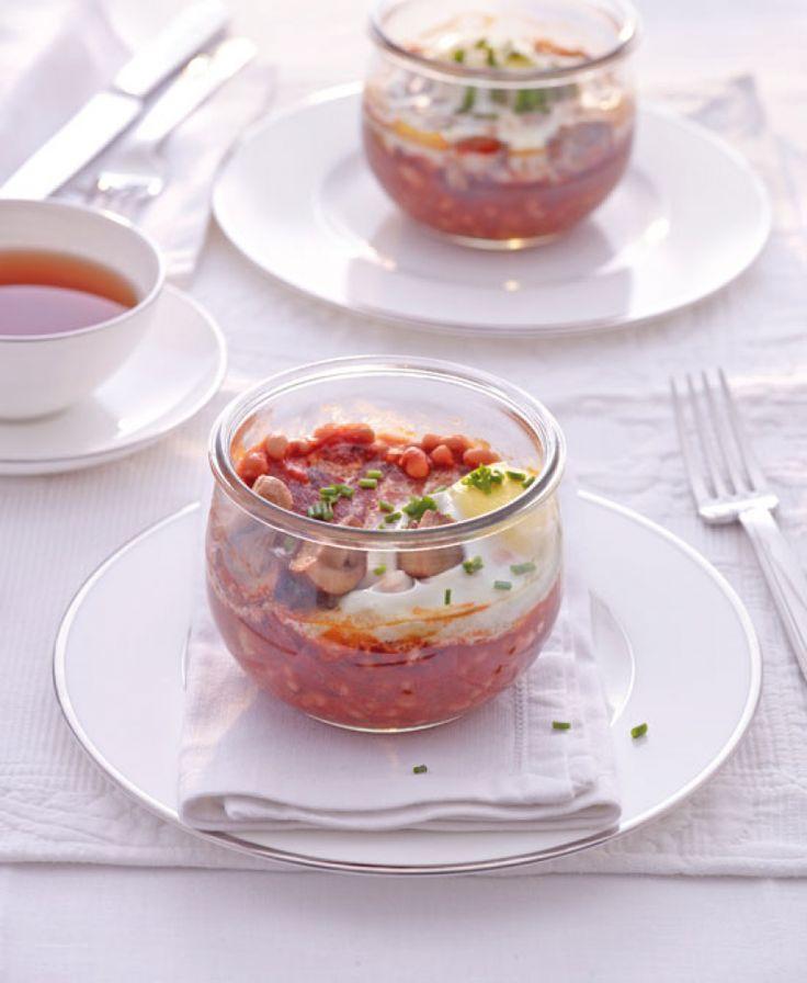Englisches Frühstück im Glas Rezept - ESSEN & TRINKEN