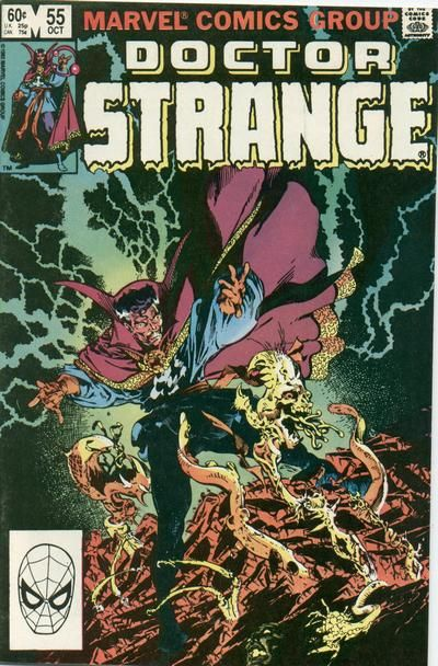 Doctor Strange Vol 2 55 By Michael Golden