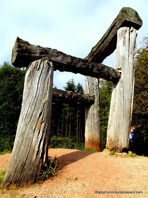 The Giant's Chair, Sculpture Trail, Forest of Dean :: Tales from Mount Pleasant: #SilentSunday - 16/09/12