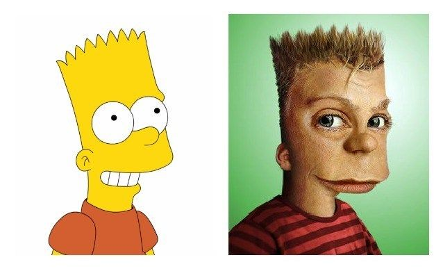 Bart Simpson, The Simpsons. You Can't Miss This! The 18 Most Famous Cartoon Characters In 3D • Page 2 of 5 • BoredBug