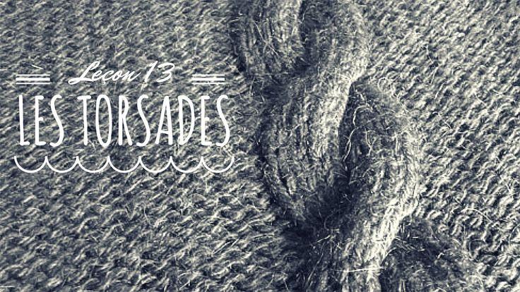 17 best images about tricot et crochet tuto on pinterest - Comment faire des torsades au tricot ...