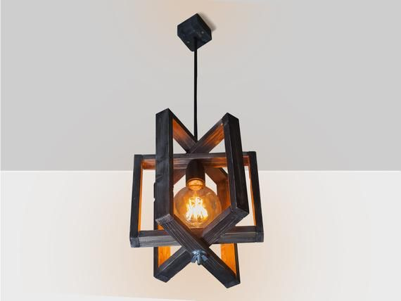 Wooden hanging lamp, Pendant lighting, Wood lamp, Wooden lamp, Wooden chandelier, Contemporary hanging lamp, Ceiling lamp, Pendant wood lamp
