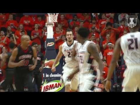 Illini Basketball Highlights vs. SEMO 11/11/16
