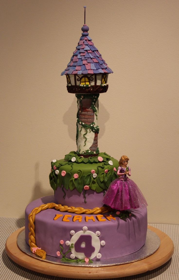 Rapunzel Tower Cake Ideas