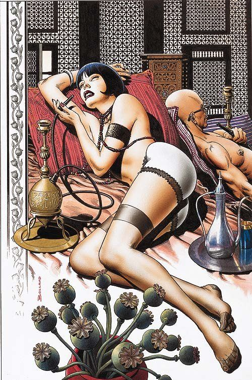 Cover to Vol 2, Issue 10 of The Invisibles, By Mr. Bolland
