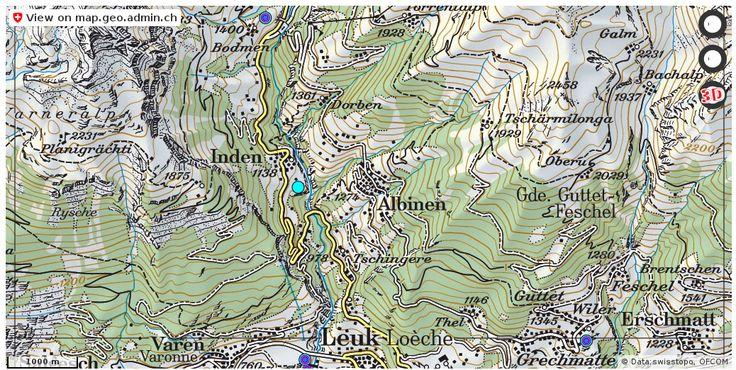 Albinen VS Handy antennen netz Natel http://ift.tt/2qkxIGY #geodaten #Geomatics