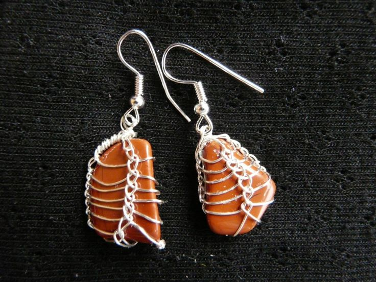 A personal favourite from my Etsy shop https://www.etsy.com/uk/listing/217027435/terra-cotta-earrings-jasper-earrings