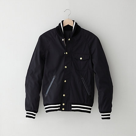 Nanamica Reversible Varsity Jacket | Mens Jackets | Steven Alan