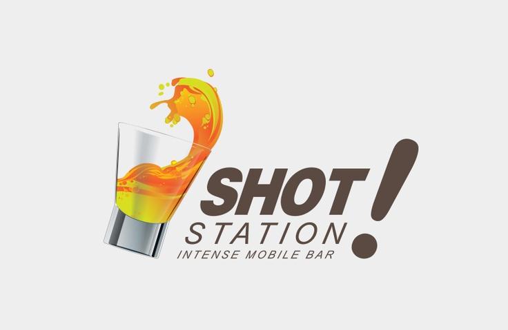 Desarrollo logotipo para empresa que ofrece los servicios de bares móviles para recepciones en fiestas y otros eventos sociales.
