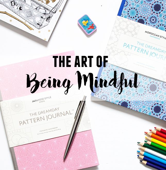 The Art of Being Mindful | Dreamday Pattern Journal | lifeofkitty.co.uk