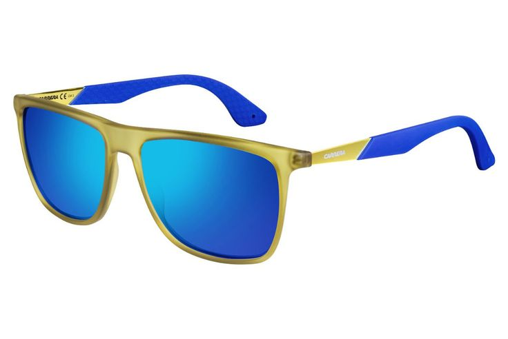 Carrera - 5018/S Cedar Blue Sunglasses, Blue Lenses