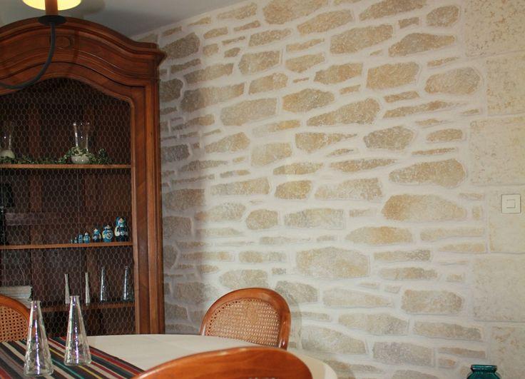 8 best murs pierre images on Pinterest Paredes de piedra, Rock - enduit pour mur interieur