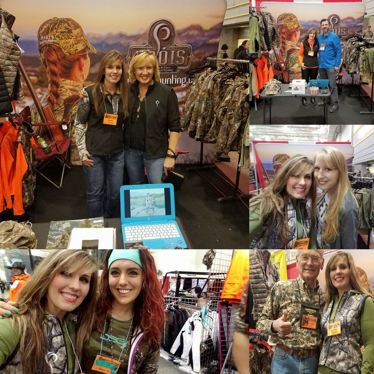 Wisconsin State Coordinator, Jennifer Piasecki-Dums made some great connections at the Wisconsin Deer & Turkey Expo this past weekend! #proiswasthere Check out our performance hunting gear for women at www.proishunting.com
