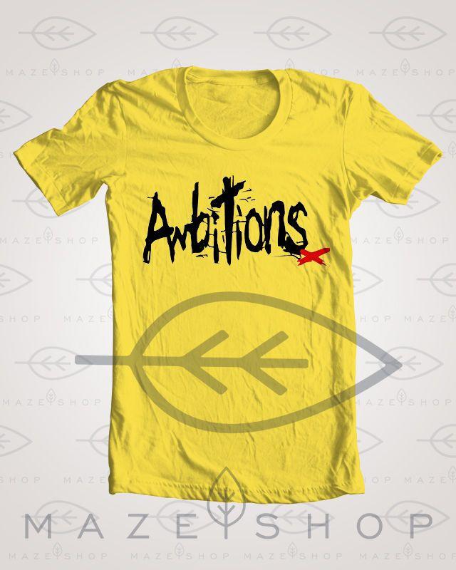 One Ok Rock Ambitions T-Shirt BabyMetal Scandal The Gazette XJapan Mejibray Vamp #Handmade #BasicTee
