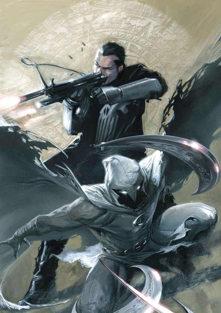 """redcell6: """" Moon Knight #27 by Gabriele Dell'Otto_____!!!! """""""