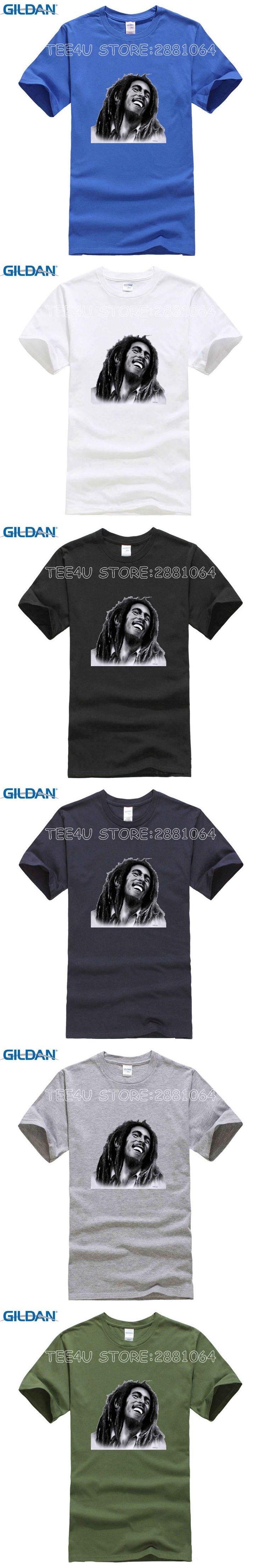 Tee4U Cheap T Shirt Design Short Sleeve Bob Marley Short Sleeve 3D Print Street Hip (2) Short Crew Neck T Shirts For Men