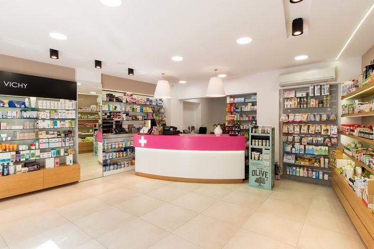 pharmacy design Kali Gavriil  Athens Greece