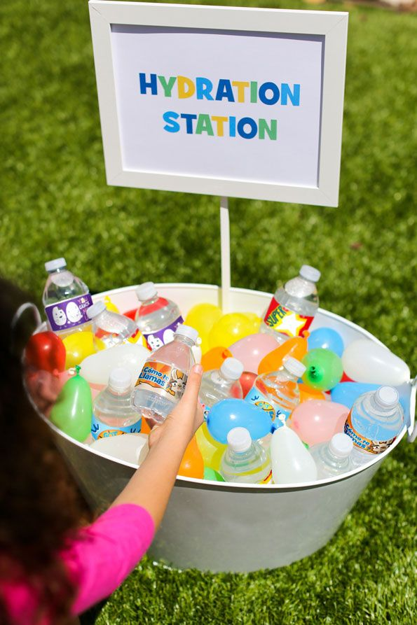 how to make ice water balloons