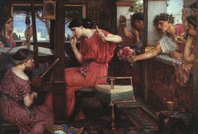 DDALUZ: Penelopea, Cuarto Menguante, de Trazos de Selenia (1998) - Homero (La Odisea) http://ddaluz.blogspot.com.es/2013/07/penelopea-cuarto-menguante-de-trazos-de.html